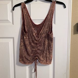American eagle cinged top